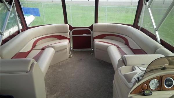 2011 Berkshire Pontoons boat for sale, model of the boat is ltd series 220 cl & Image # 6 of 12