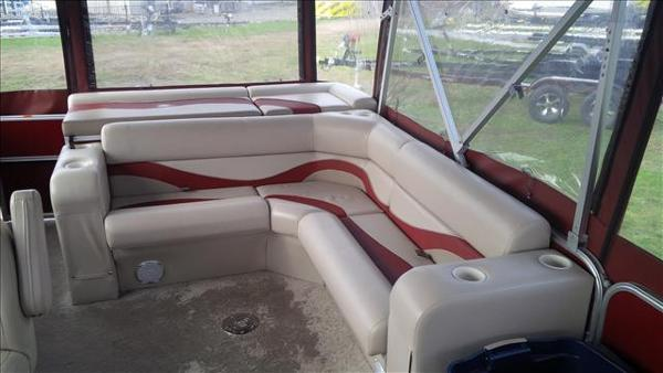 2011 Berkshire Pontoons boat for sale, model of the boat is ltd series 220 cl & Image # 7 of 12
