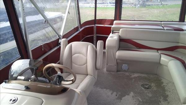 2011 Berkshire Pontoons boat for sale, model of the boat is ltd series 220 cl & Image # 8 of 12