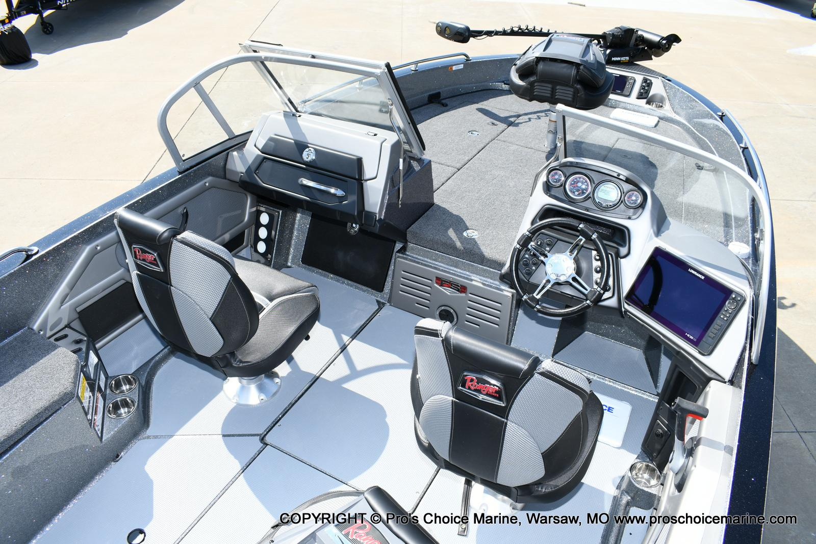 2020 Ranger Boats boat for sale, model of the boat is 619FS Ranger Cup Equipped & Image # 43 of 50