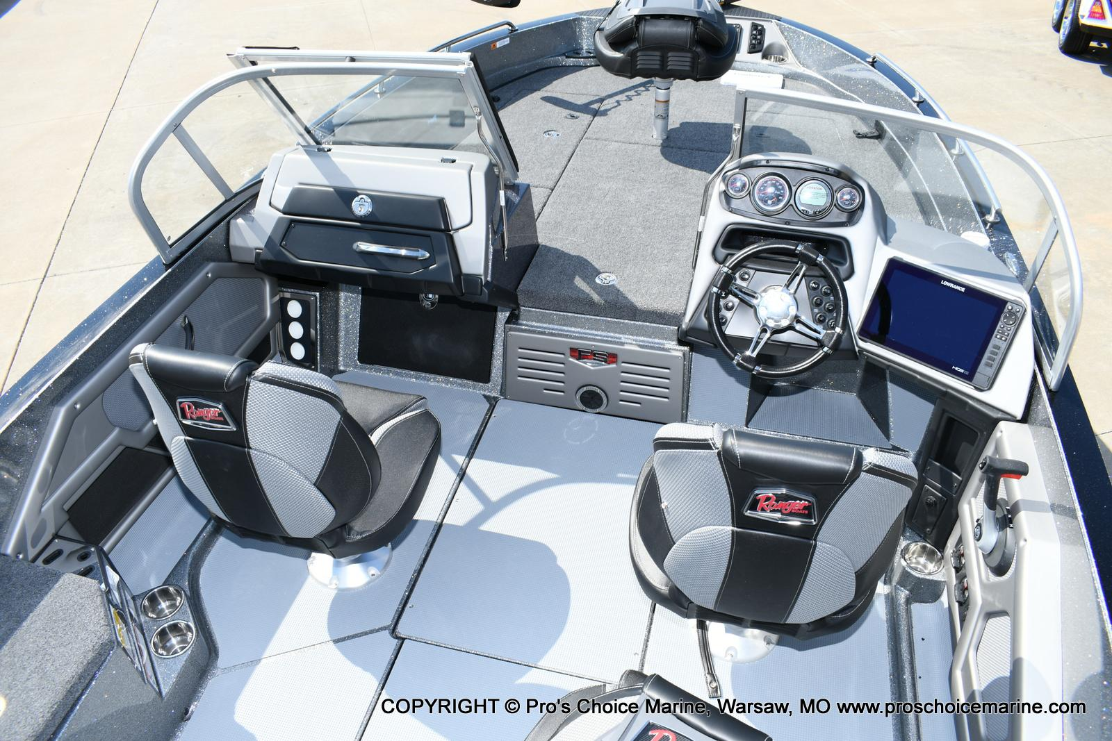 2020 Ranger Boats boat for sale, model of the boat is 619FS Ranger Cup Equipped & Image # 44 of 50
