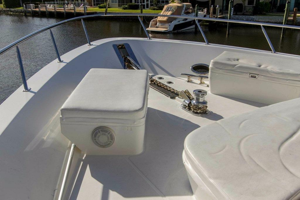 Showing Windlass & Deck Boxes