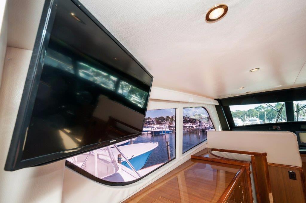 Enclosed Bridge Samsung TV