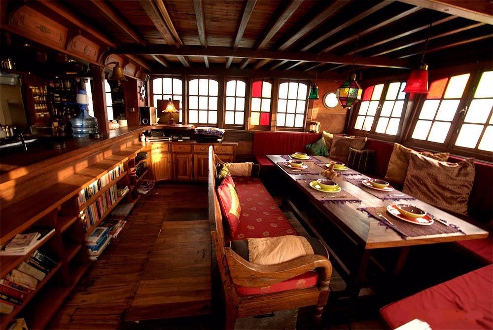 Saloon and Dining Area
