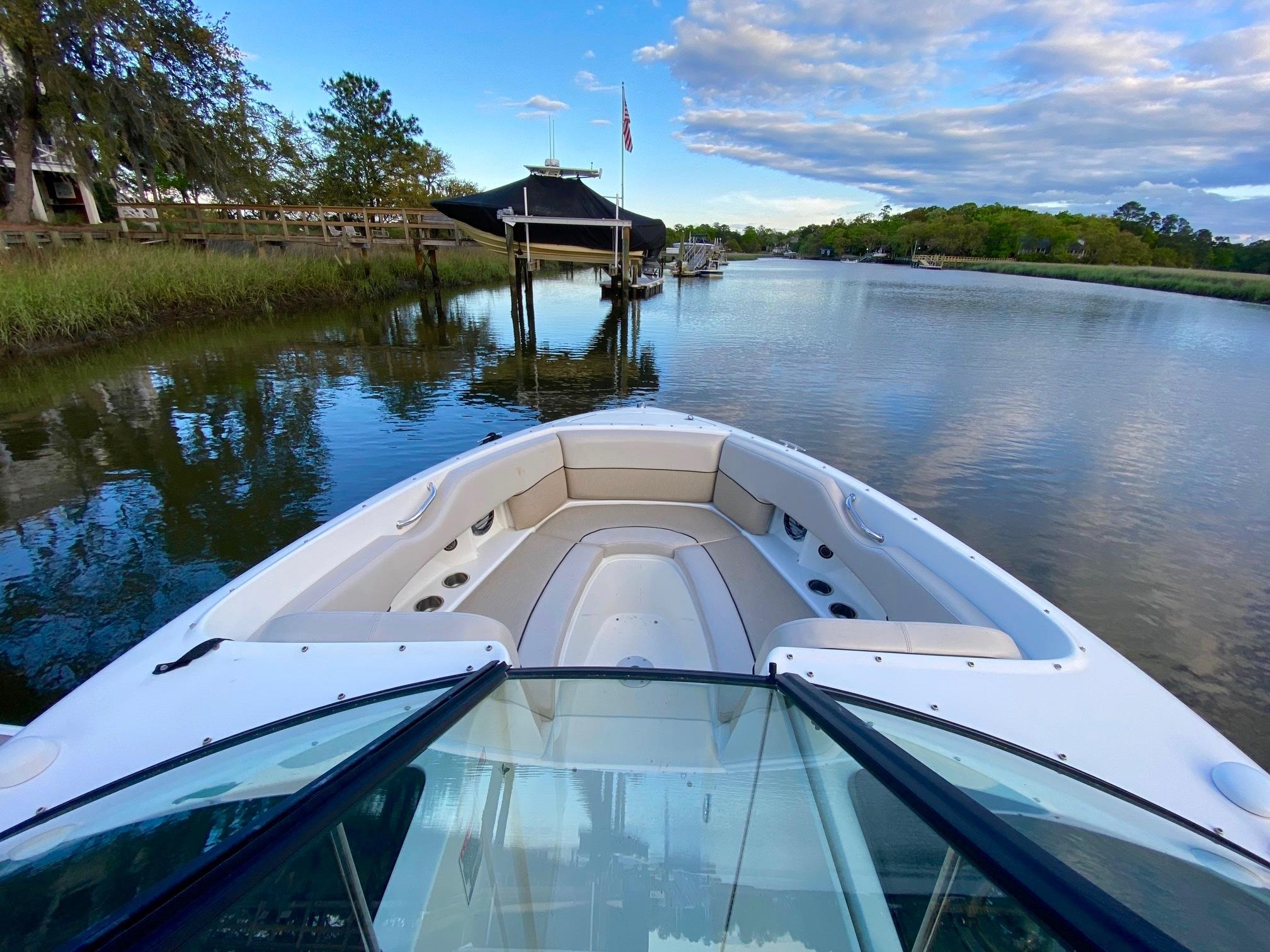 Sea Ray 270 SLX - Windshield and Bow