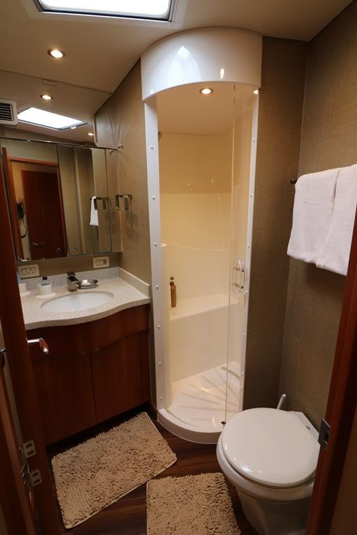 master stateroom shower