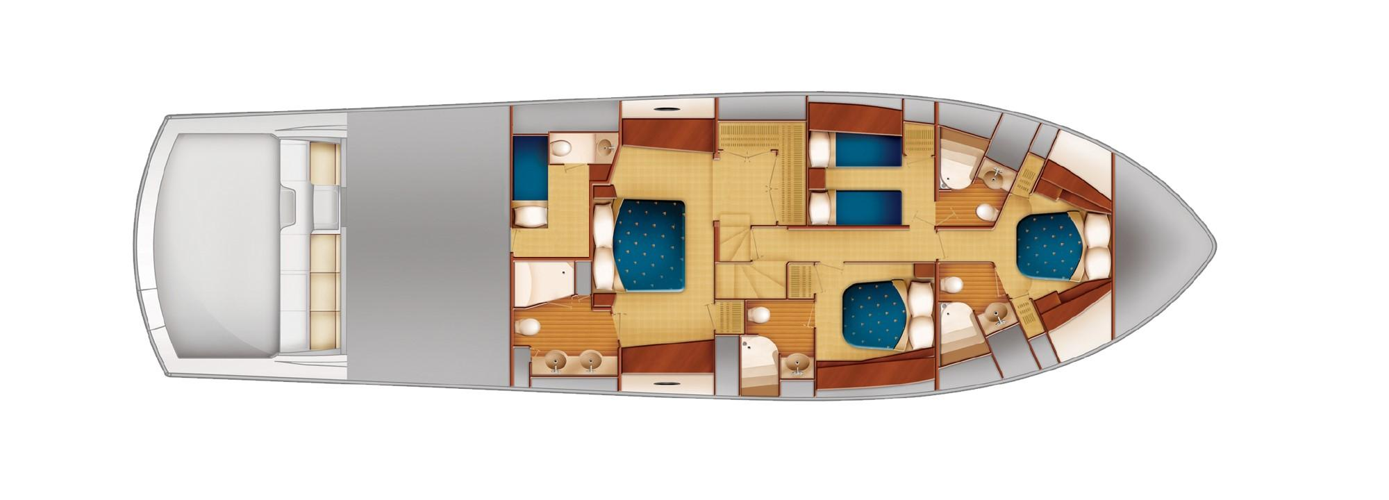 Cabin Deck layout
