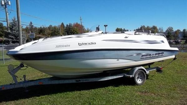 For Sale: 2000 Sea Doo Pwc Islandia 18ft<br/>George's Marine & Power Sports - Ottawa - A Division of Pride Marine