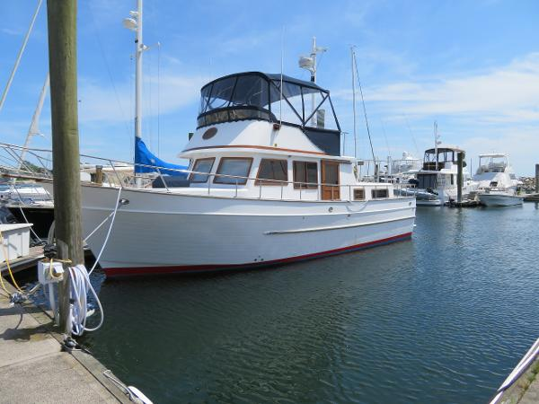 Marine Trader 38 BoatsalesListing Rhode Island