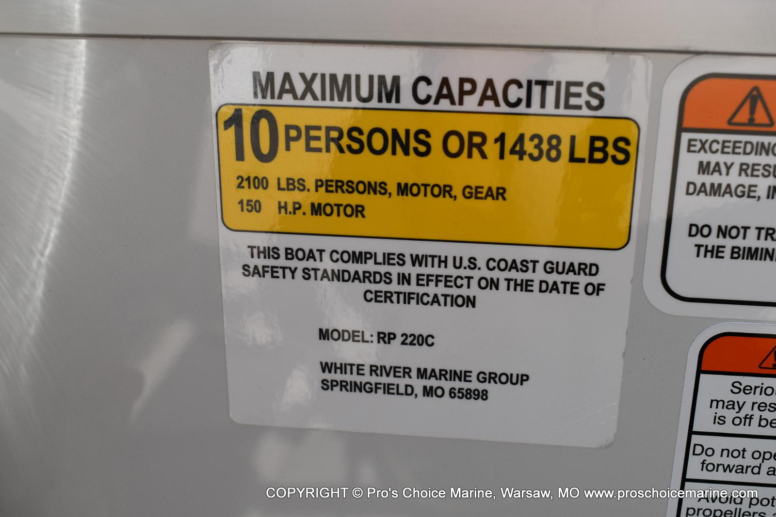 2020 Ranger Boats boat for sale, model of the boat is 220C & Image # 24 of 50
