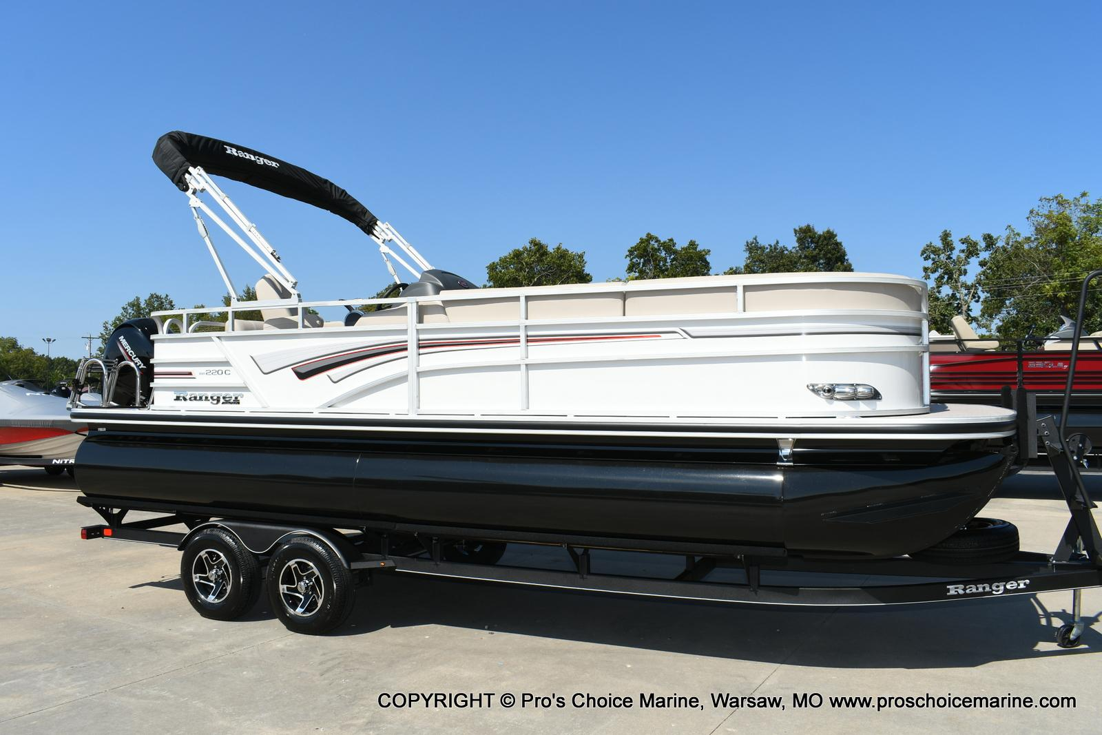 2020 Ranger Boats boat for sale, model of the boat is 220C & Image # 25 of 50
