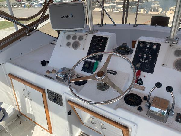 Hatteras 53 Motor Yacht Purchase Rhode Island