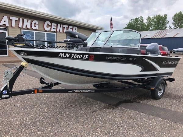 2014 ALUMACRAFT COMPETITOR 165 for sale