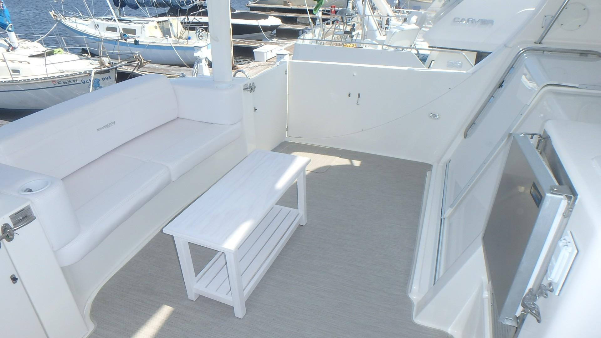 Silverton 35 Motor Yacht - New Flooring