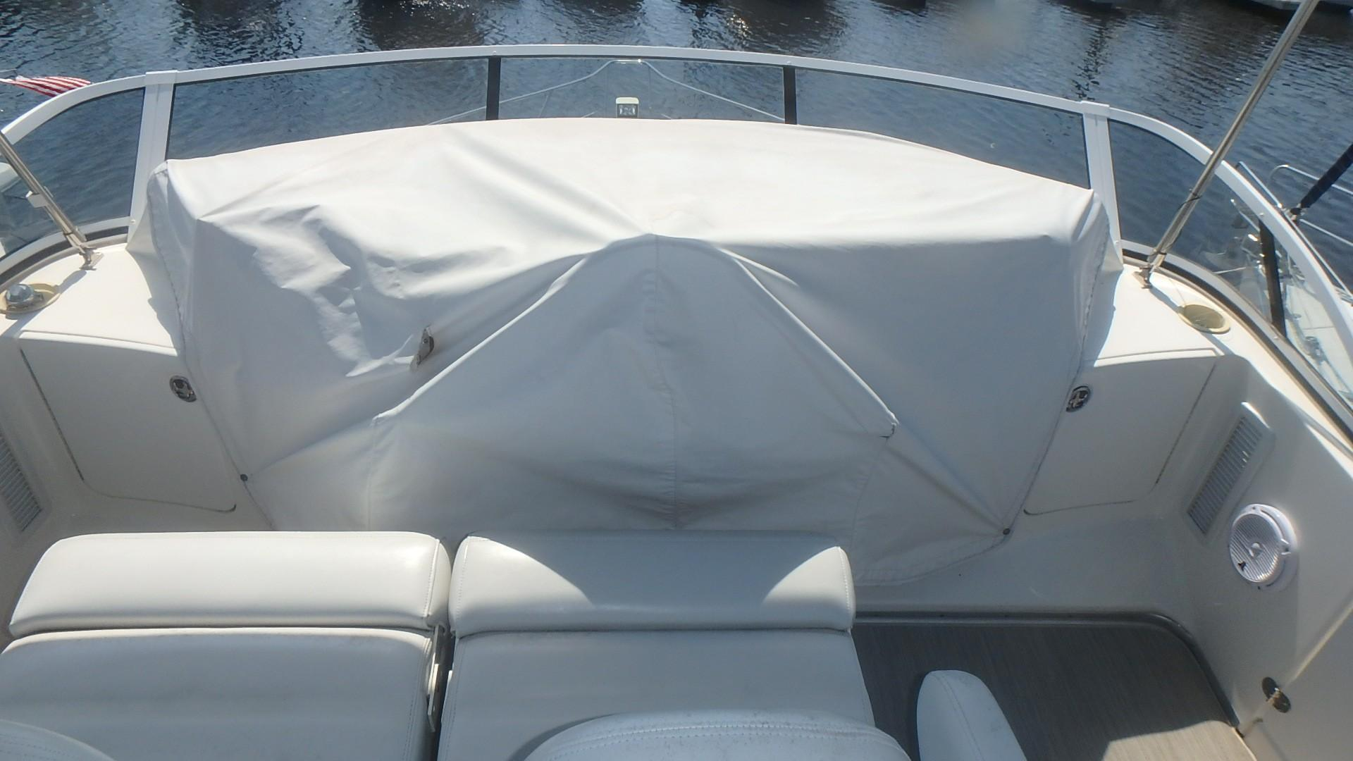 Silverton 35 Motor Yacht - Helm Cover