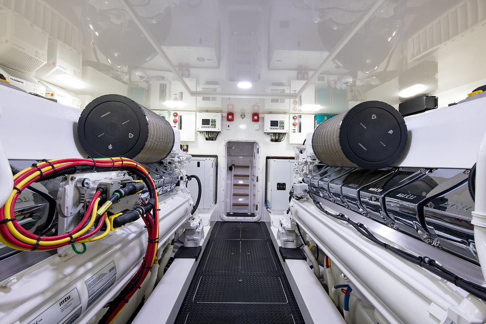 80 Viking Engine Room