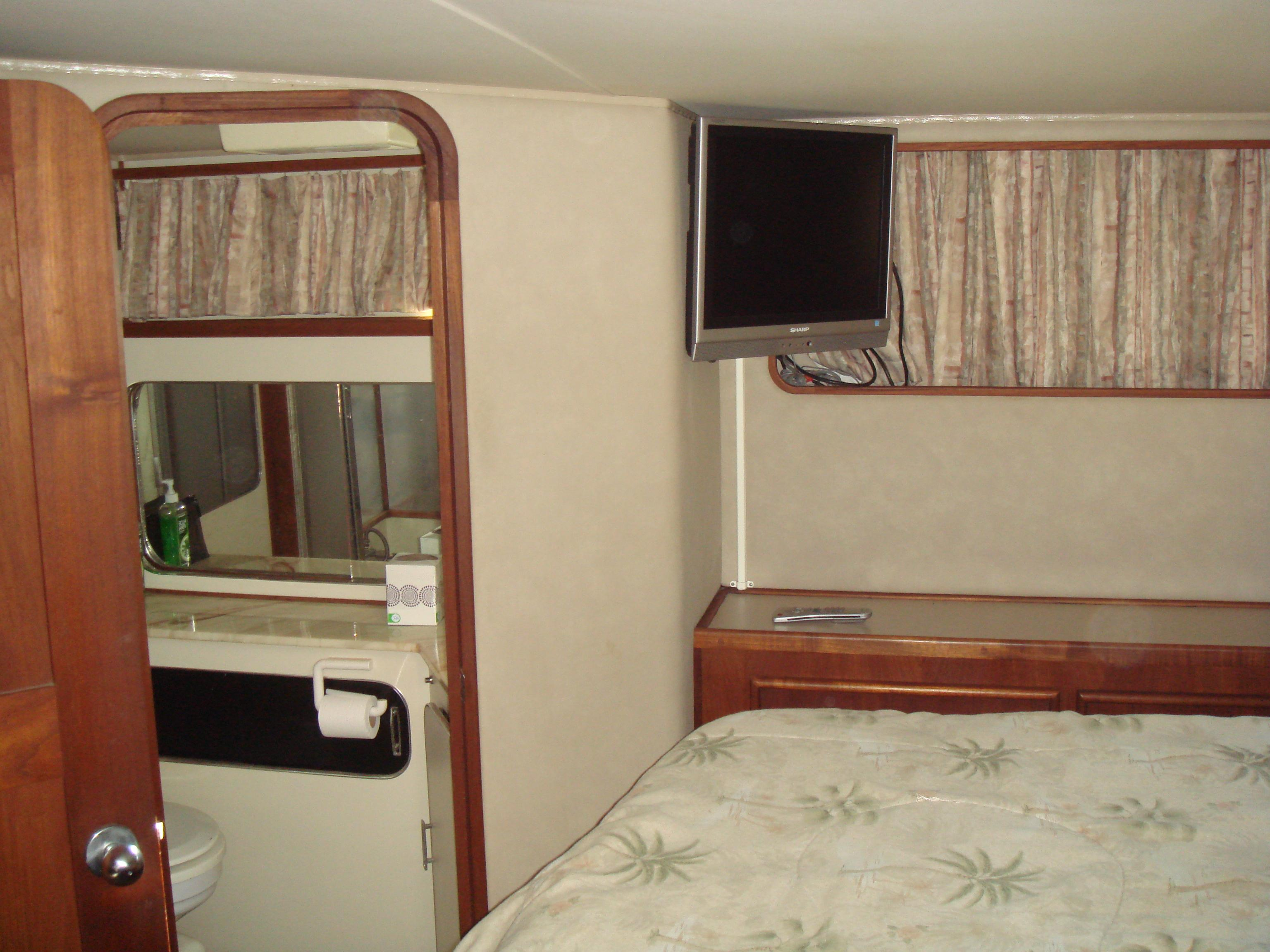 TV in Aft Stateroom