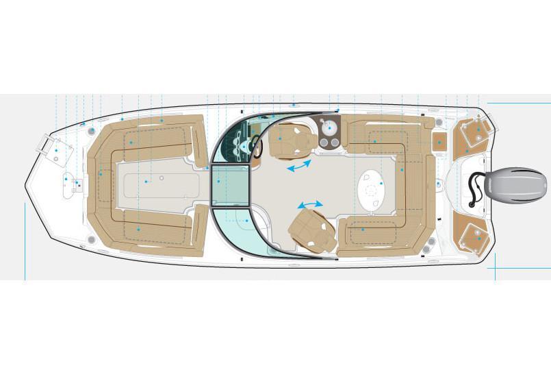 NauticStar243DC Sport Deck