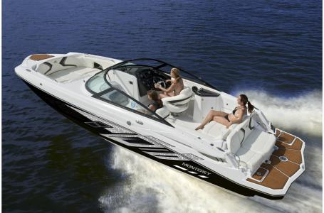 2019 Monterey boat for sale, model of the boat is M4 w/ I/O Mercruiser 300HP CAT.2.2 BR3 & Image # 1483 of 2574