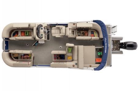 2019 Sun Tracker boat for sale, model of the boat is PB 22RF XP3 w/ MERCURY 150HP 4S & Image # 238 of 474