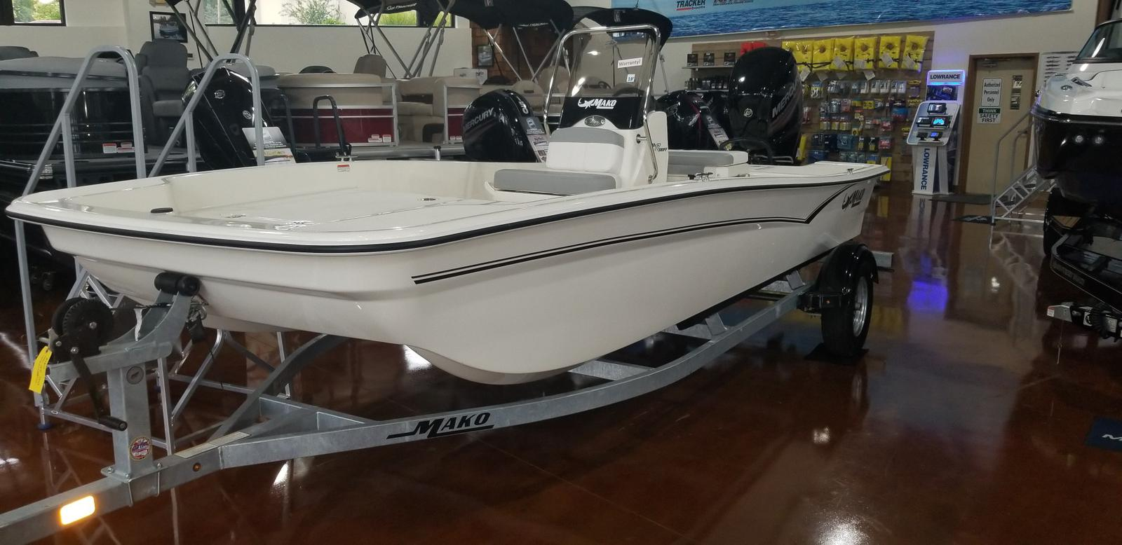 2019 Mako boat for sale, model of the boat is SKIFF 17 w/ Mercury 75ELPT 4S & Image # 1 of 40