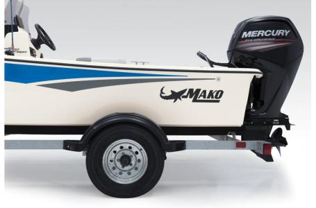 2019 Mako boat for sale, model of the boat is SKIFF 17 w/ Mercury 75ELPT 4S & Image # 25 of 40