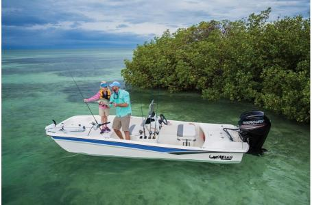 2019 Mako boat for sale, model of the boat is SKIFF 17 w/ Mercury 75ELPT 4S & Image # 3 of 40
