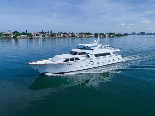 Broward Pilot House Motor Yacht