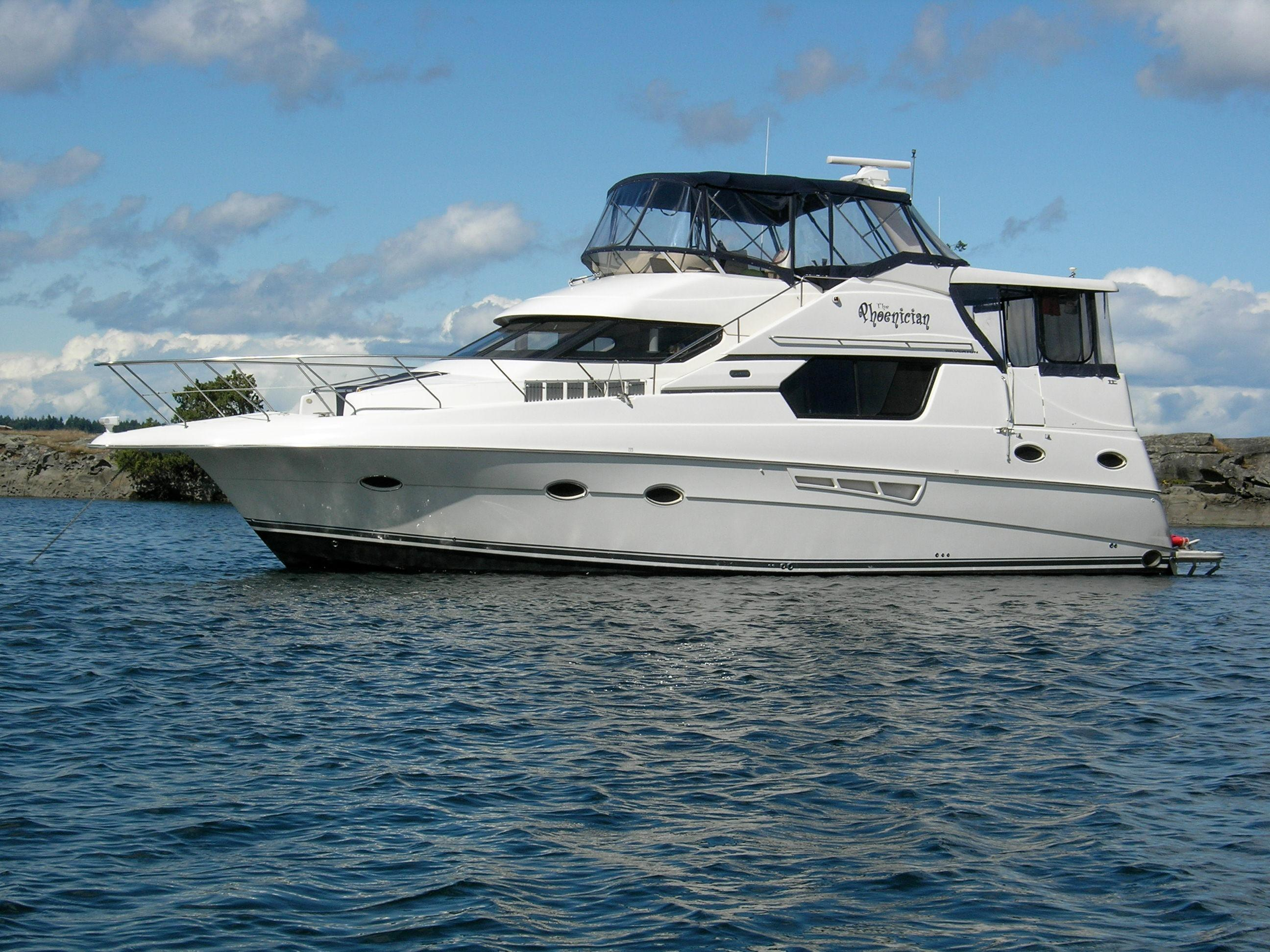 47 Silverton 2000 For Sale In Vancouver Ca Denison Yacht Sales