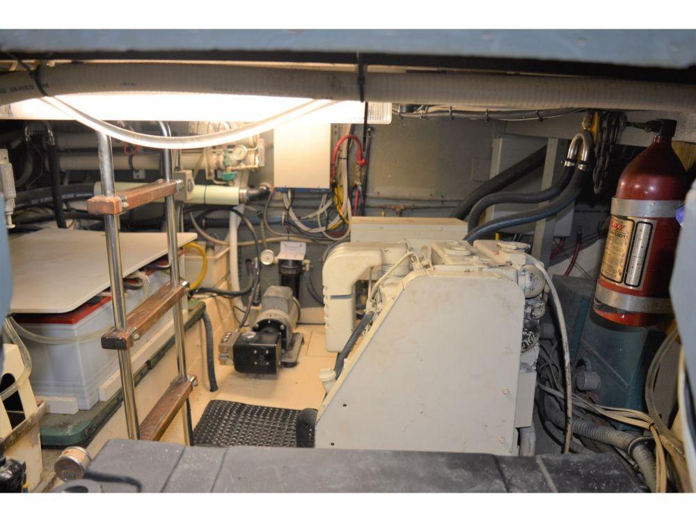 Hatteras 58 Motor Yacht - Generator Room
