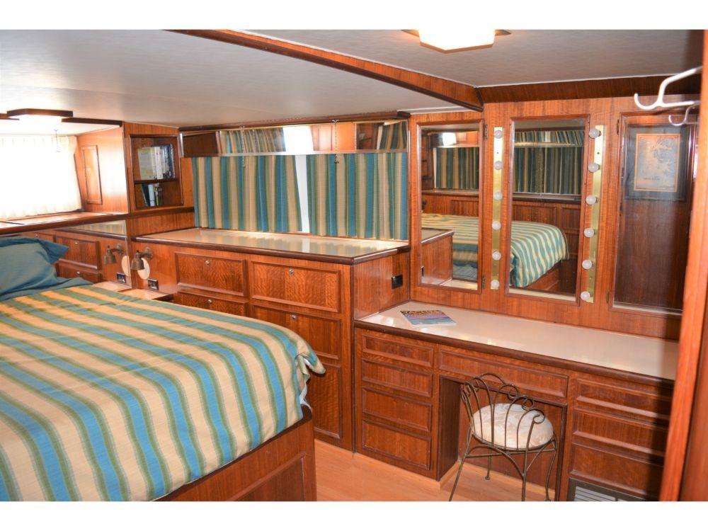 Hatteras 58 Motor Yacht - Master Stateroom 2