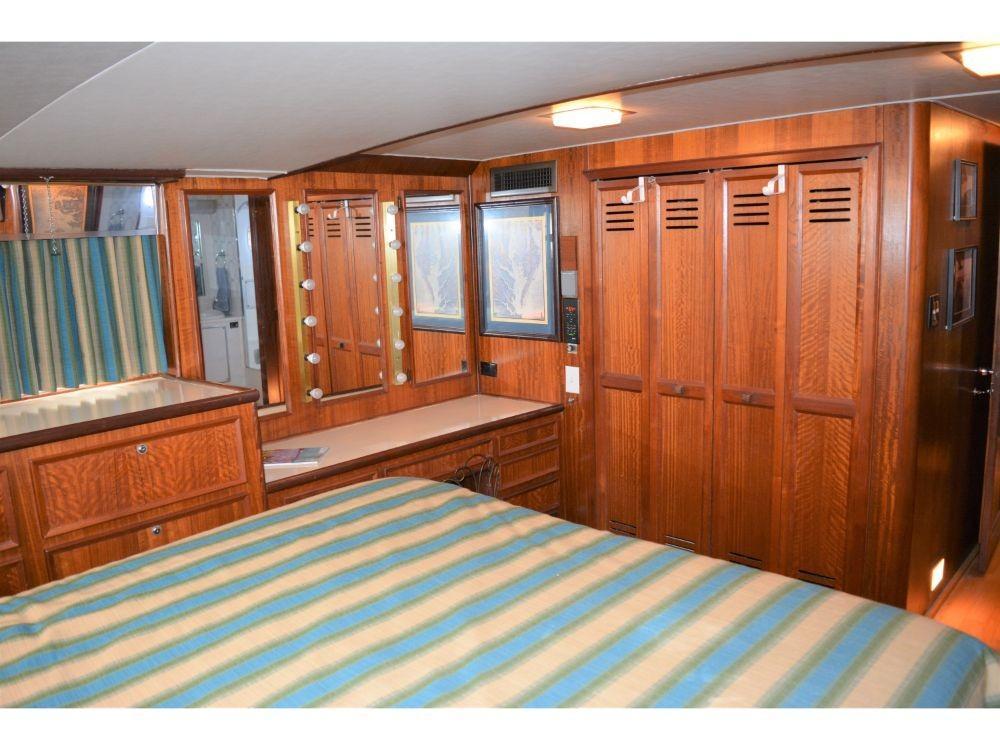 Hatteras 58 Motor Yacht - Master Stateroom Hanging Lockers