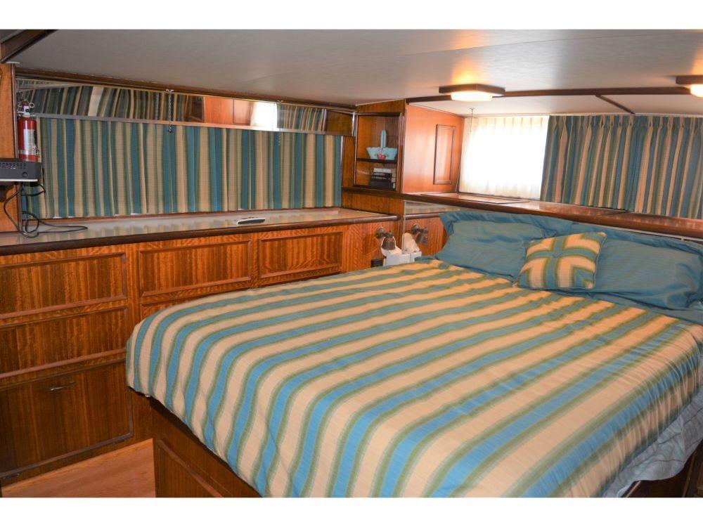 Hatteras 58 Motor Yacht - Master Stateroom
