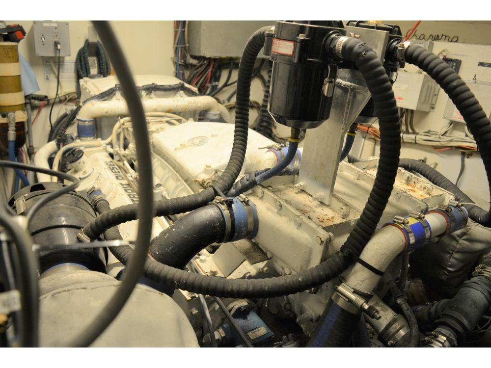 Hatteras Motor Yacht - Engine Room