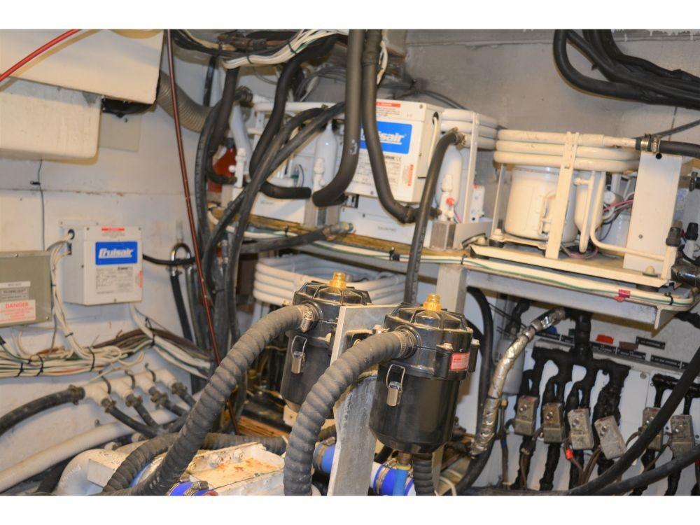 Hatteras 58 Motor Yacht - HVAC Units