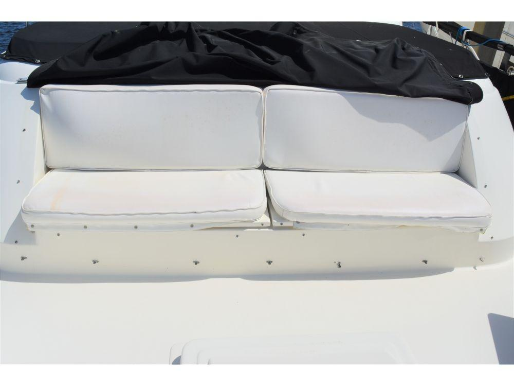 Hatteras Motor Yacht - Forward Deck Seating