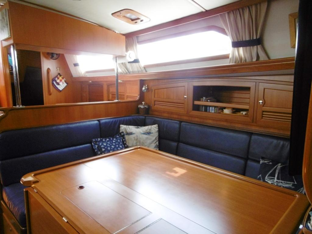 Salon looking aft to galley