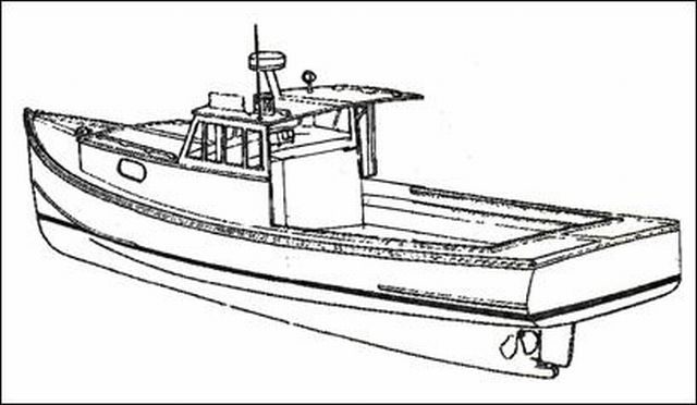 GREY SEAL is a traditional Maine lobster boat design, but built out of ...