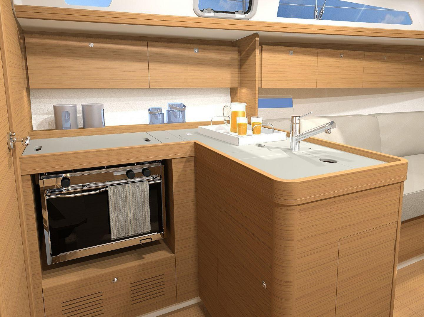Manufacturer Provided Image: Dufour 360 Grand Large Galley