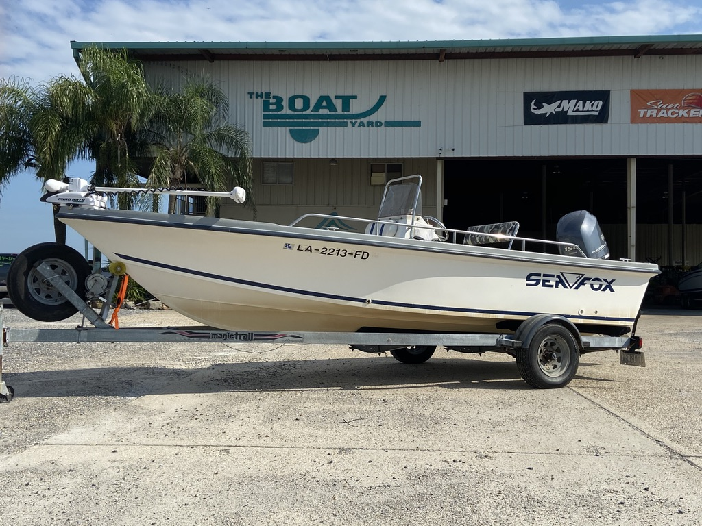 2001 Sea Fox boat for sale, model of the boat is 195 Bay Fisher & Image # 1 of 14