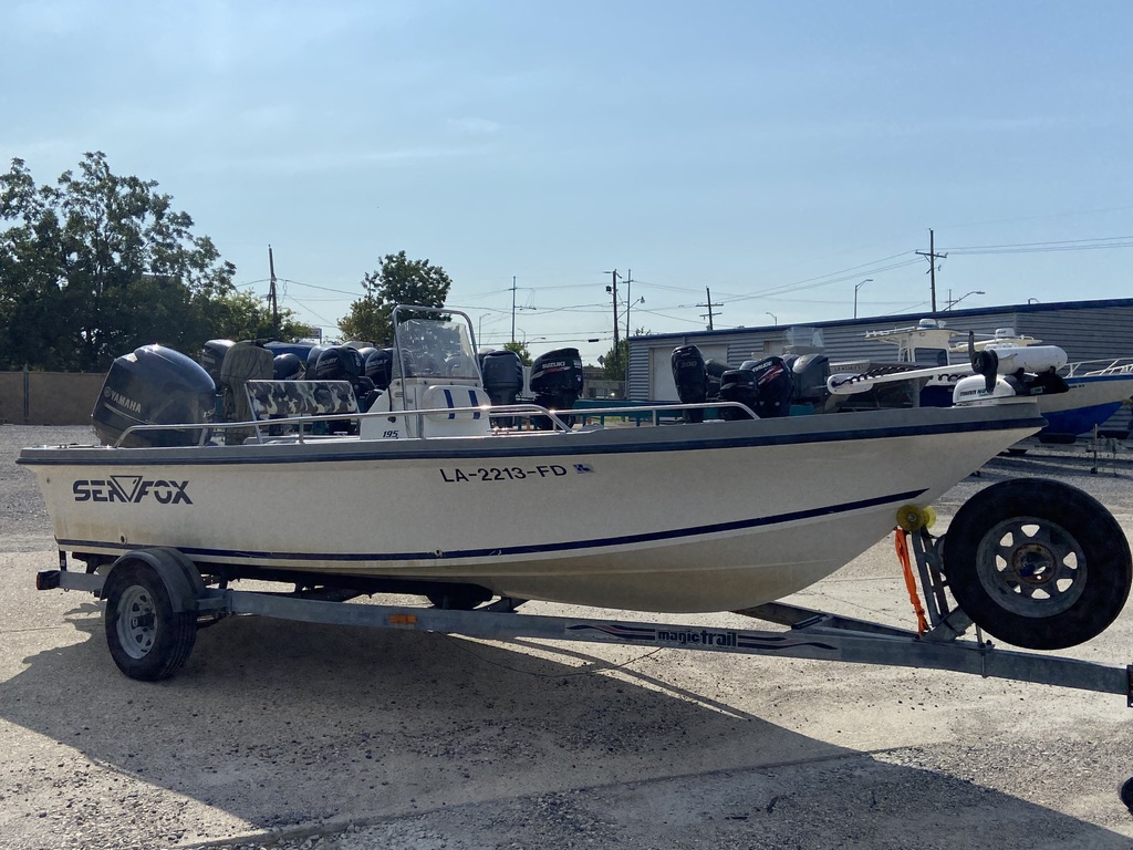 2001 Sea Fox boat for sale, model of the boat is 195 Bay Fisher & Image # 2 of 14