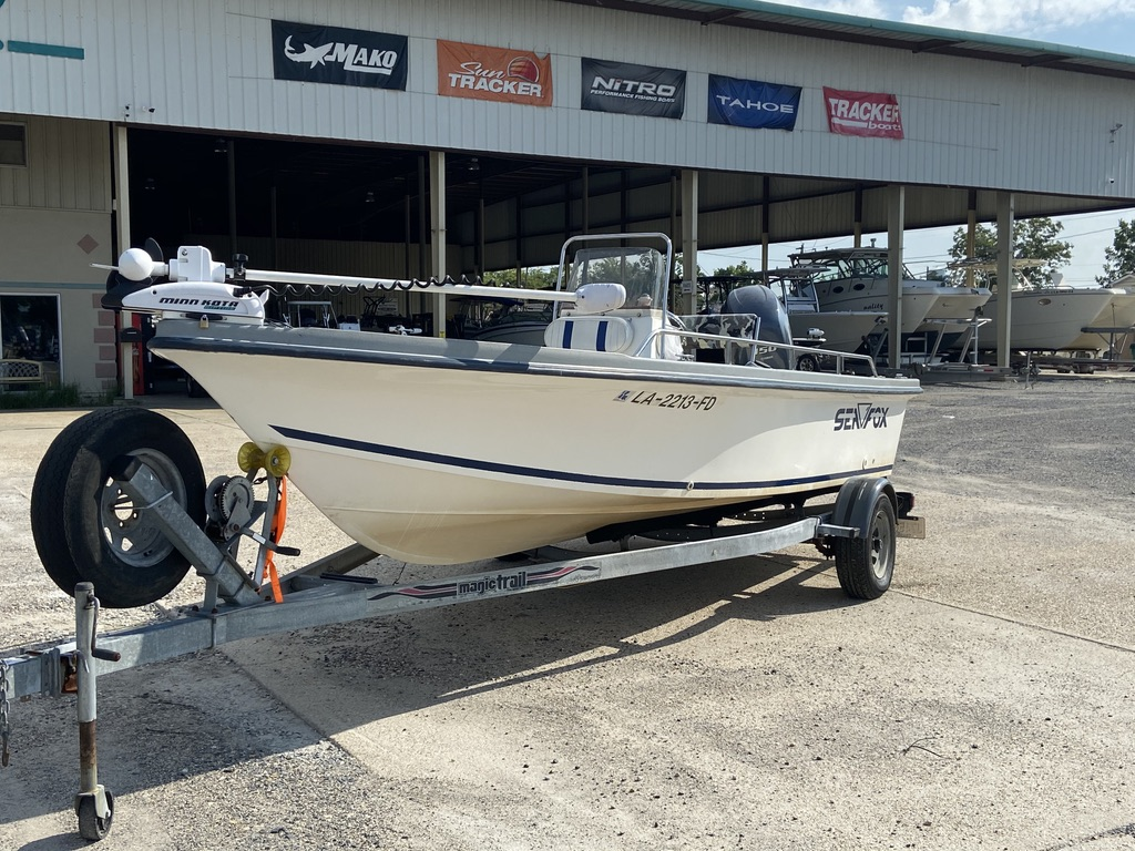 2001 Sea Fox boat for sale, model of the boat is 195 Bay Fisher & Image # 3 of 14