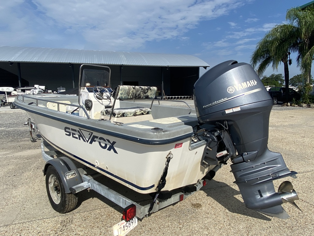 2001 Sea Fox boat for sale, model of the boat is 195 Bay Fisher & Image # 4 of 14