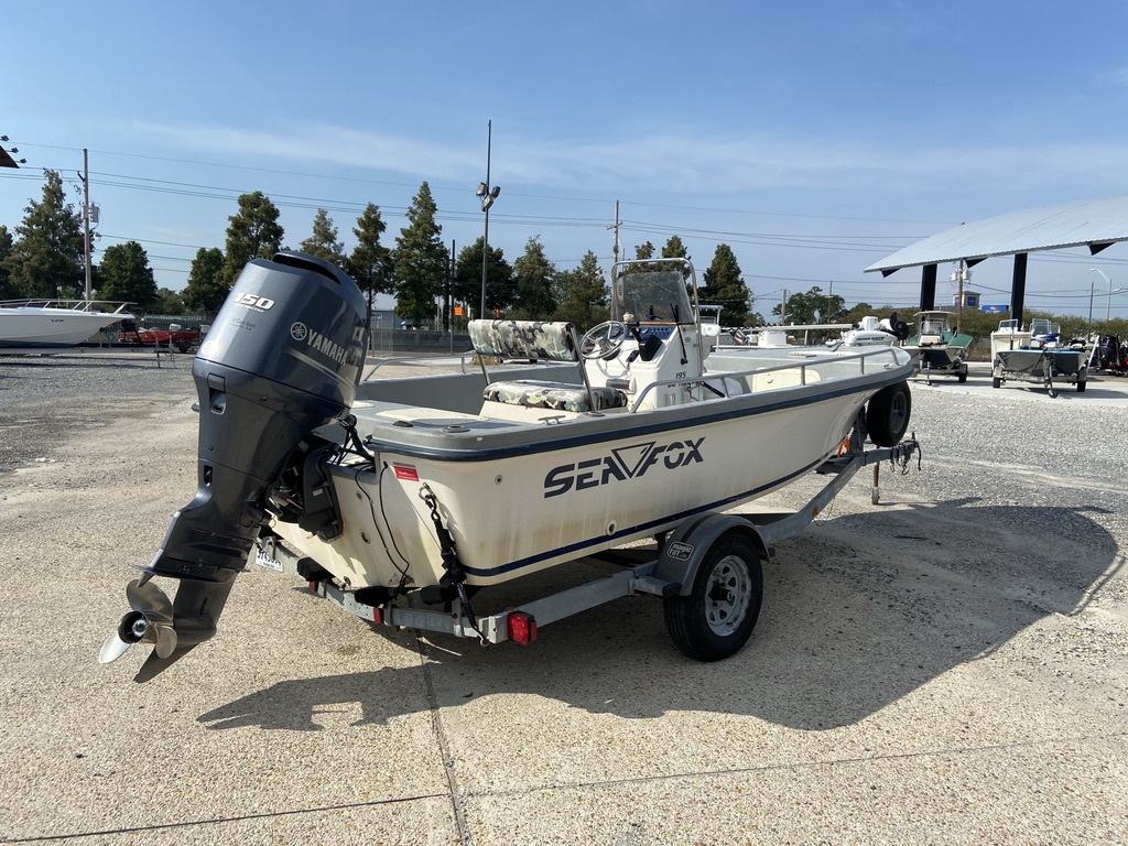 2001 Sea Fox boat for sale, model of the boat is 195 Bay Fisher & Image # 8 of 14