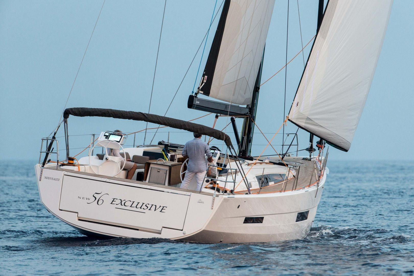 Manufacturer Provided Image: Dufour Exclusive 56 Stern
