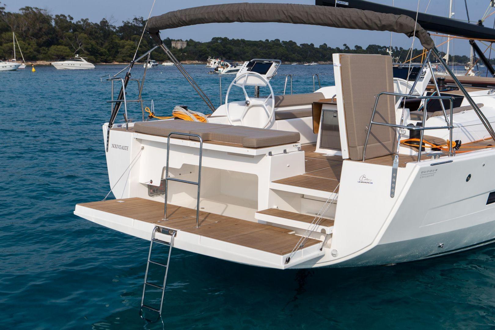 Manufacturer Provided Image: Dufour Exclusive 56 Bathing Platform