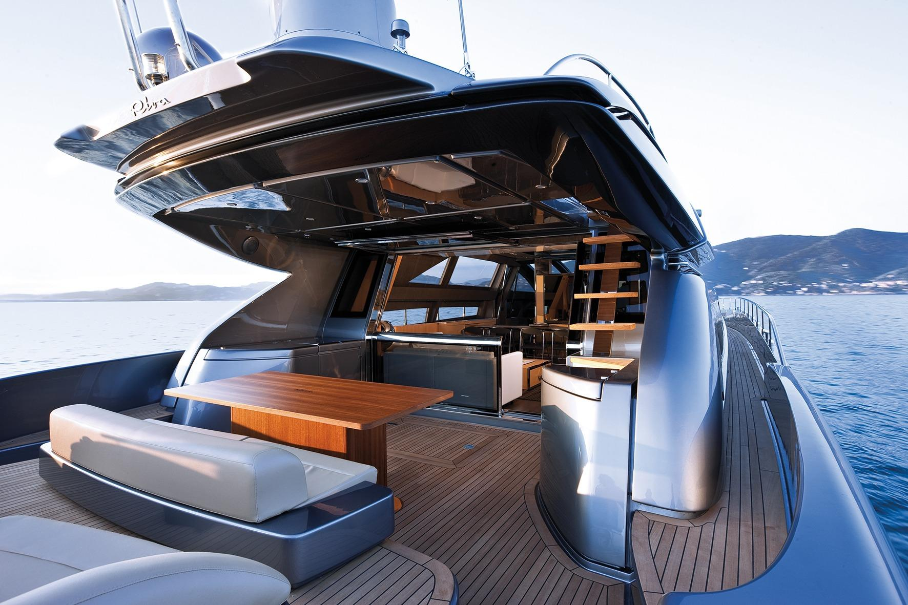 Manufacturer Provided Image: Riva 86' DOMINO Cockpit