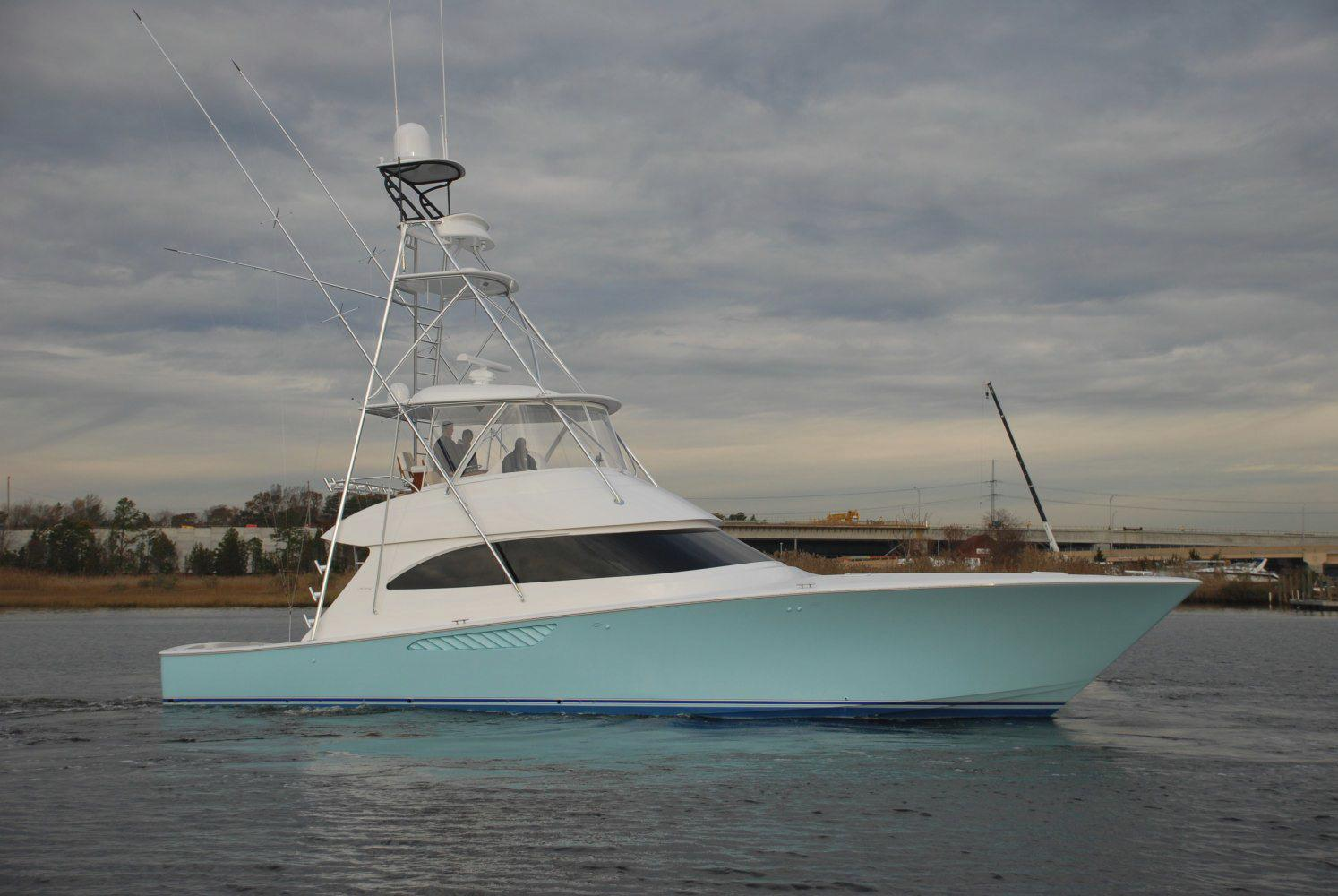 2013 viking yachts 55 convertible for sale galati yacht for Fishing yachts for sale