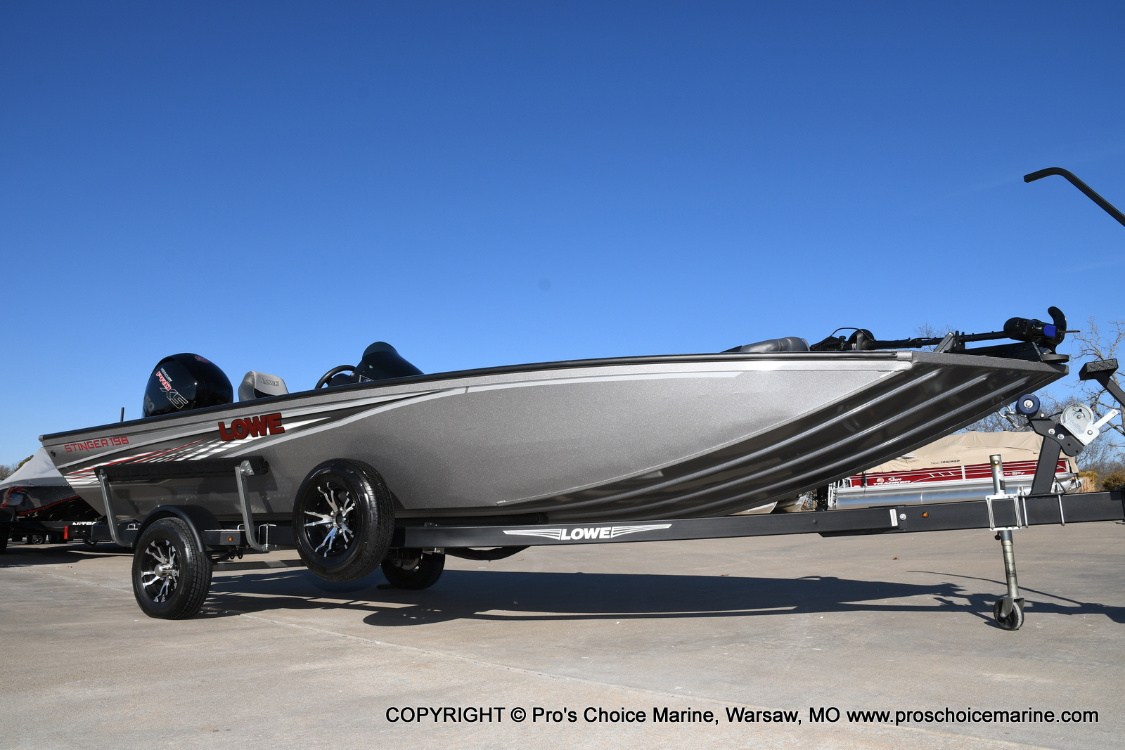 2019 LOWE STINGER 198 DUAL CONSOLE for sale