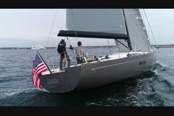 Hinckley Bermuda 50 Sloop video